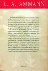 Contraportada de Autoliberación, Editorial Planeta, 1991.