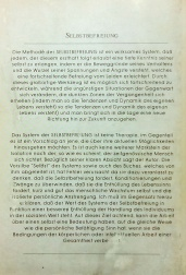 Contraportada de Autoliberación, edición alemana. Düsseldorf, 1991.